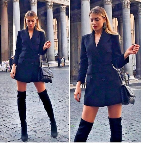 081e5bfed7b Zara Blazer Dress